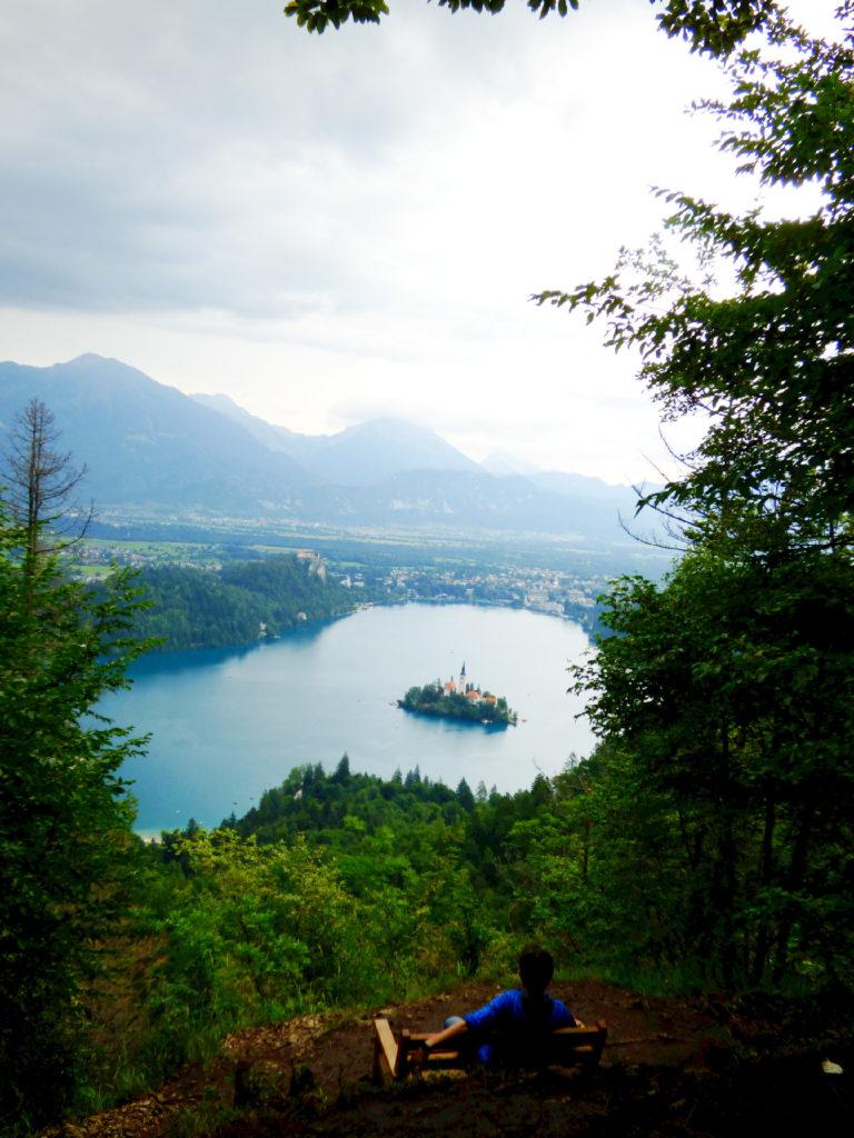 Belvedere lago di Bled