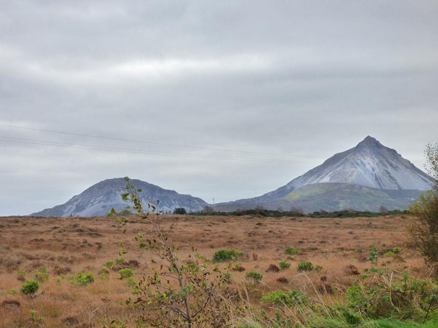 Errigal Mountain nel nord dell'Irlanda