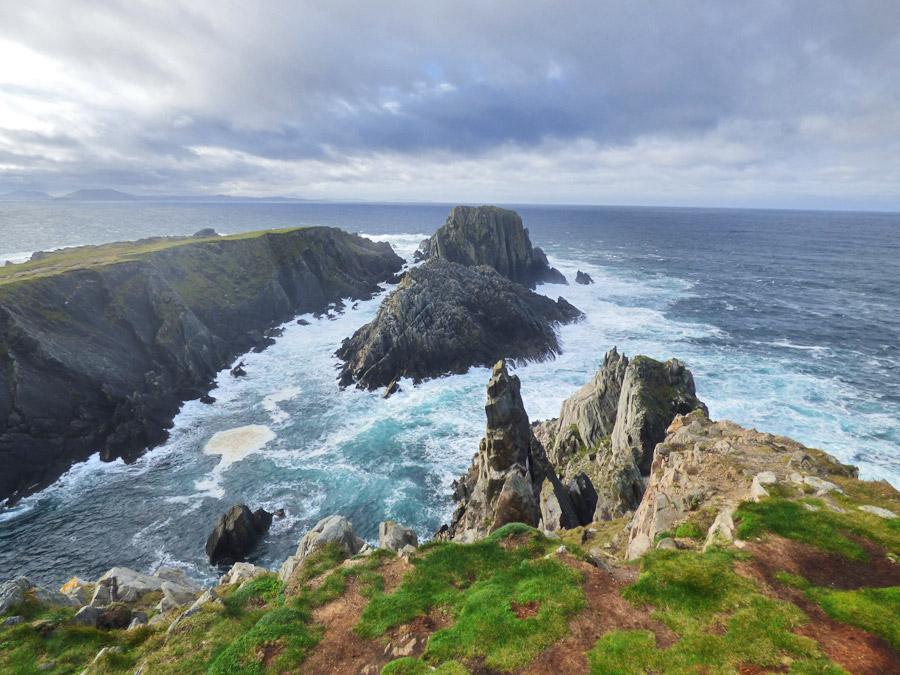 Malin Head (Capo Mailn) nel nord dell'Irlanda