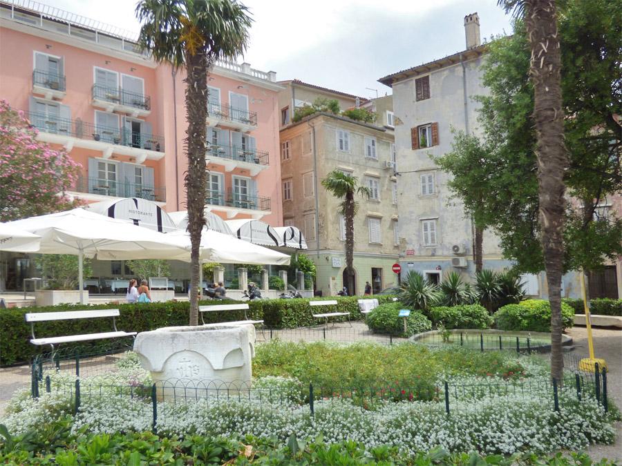piazza a Pirano