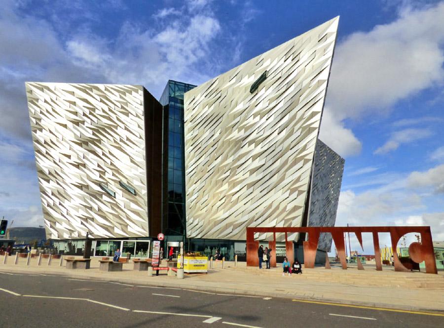museo del titanic a Belfast