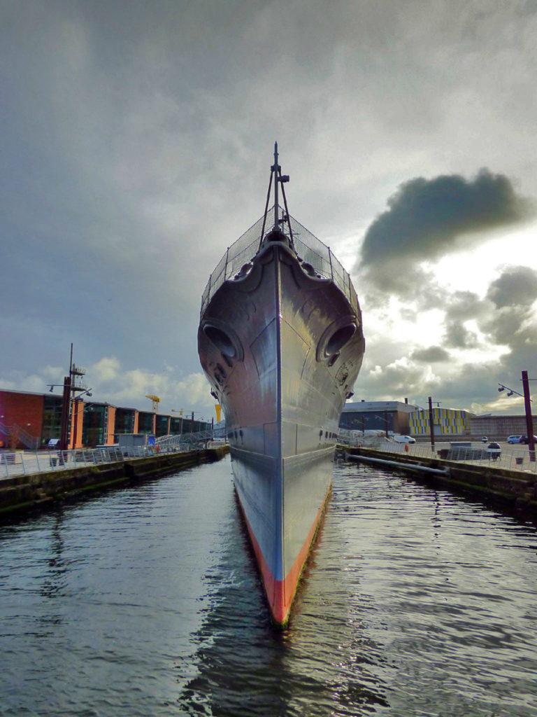 HMS Caroline Belfast