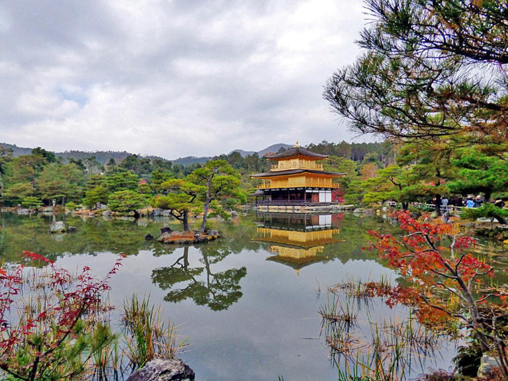 Kinkaku-ji giardino zen