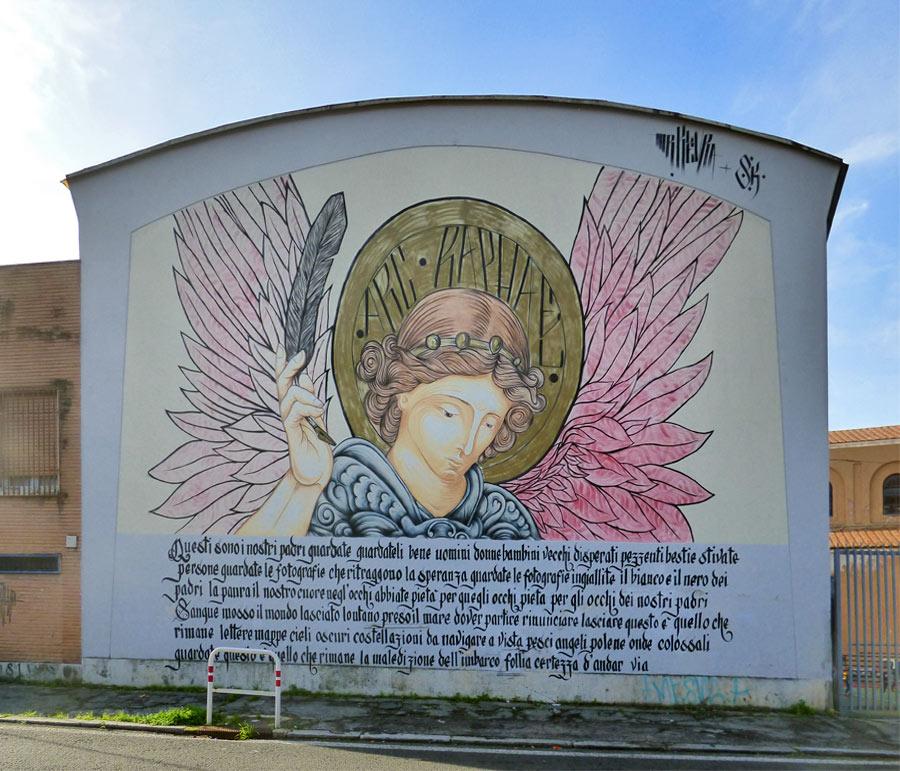 Murale Trullo Roma