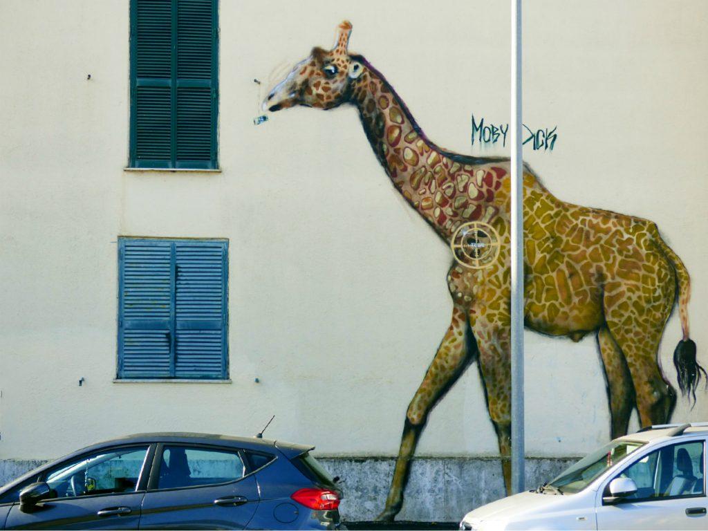 Murale Giraffa Trullo