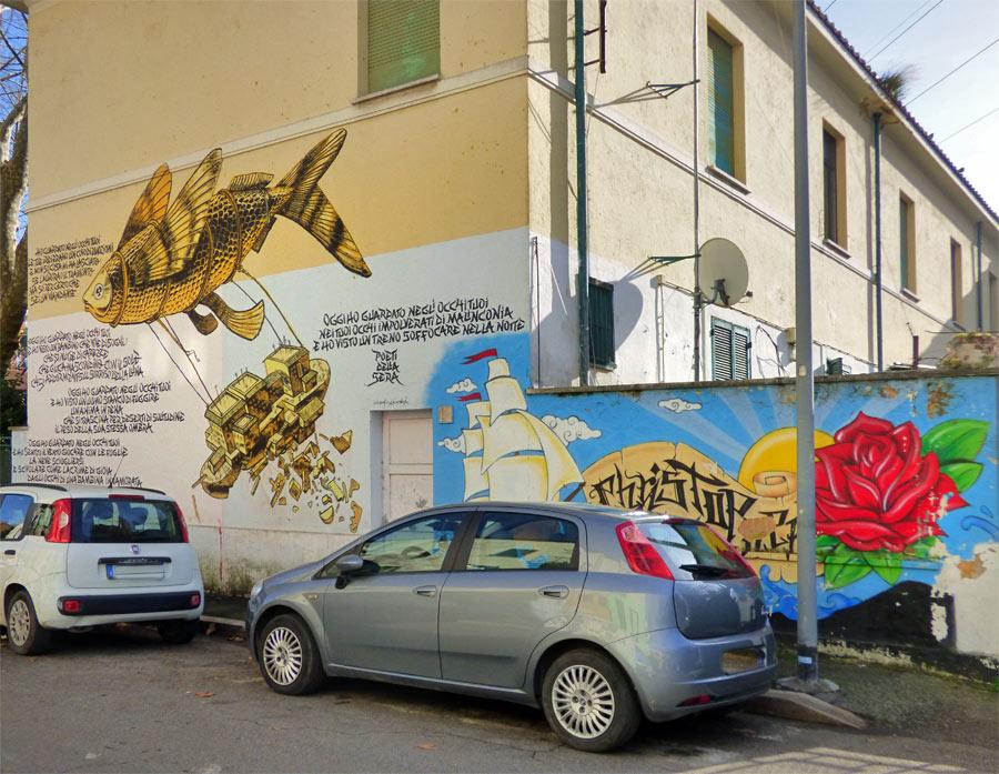 Murales Trullo Roma