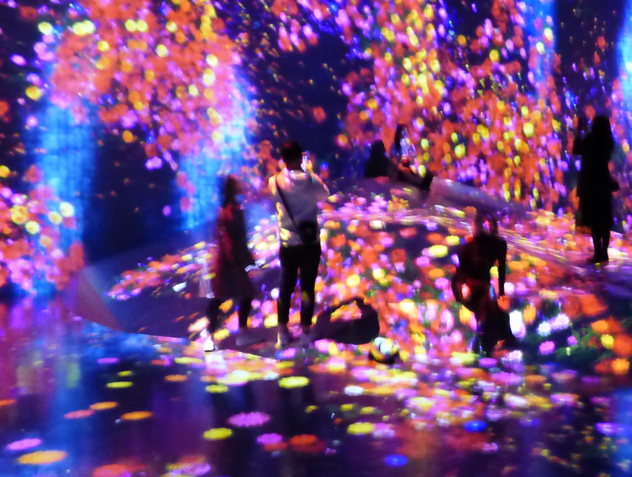 Museo arte digitale Tokyo
